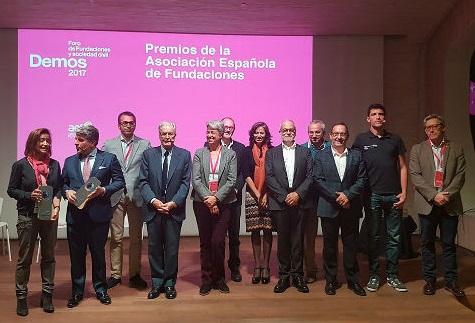Entrega de los Premios AEF 2017